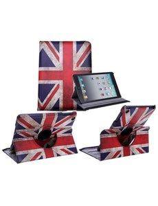 Merkloos Apple iPad Mini / Mini 2 / Mini 3 Case 360° draaibare hoesje UK Flag
