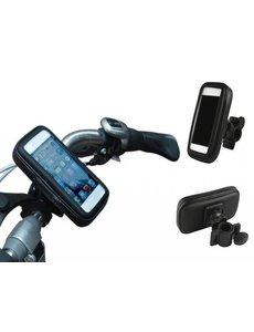 Merkloos Fiets houder voor smartphones (universeel maat L)