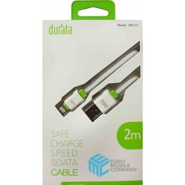 Durata Durata data/oplaad kabel iPhone 5/5s/6/6s