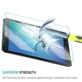 Merkloos Galaxy Tab S2 8,0 inch (SM-T710 / T715) Tempered glass Glazen Screen protector 2.5D 9H (0.3mm)