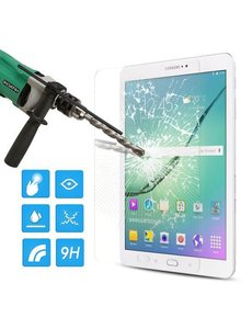 Merkloos Samsung Galaxy Tab S2 9,7 inch Tempered glass Glazen Screenprotector