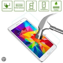 Merkloos Glazen Screen protector Tempered Glass 2.5D 9H ( 0.3mm ) voor Samsung Galaxy Tab 4 7.0 T230