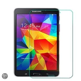 Merkloos Glazen Screen protector Tempered Glass 2.5D 9H ( 0.3mm ) voor Samsung Galaxy Tab 4 8.0 T330