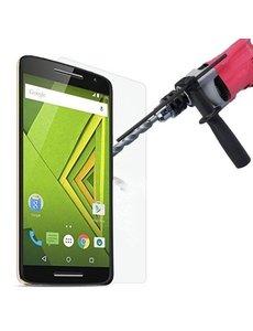 Merkloos Motorola Moto X Play Bullet Proof Tempered glass - nTech