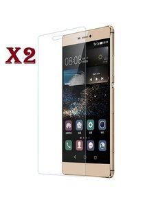 Merkloos 1 + 1 Gratis Huawei G8 glazen Screenprotector Tempered Glass (0.3mm) - Ntech