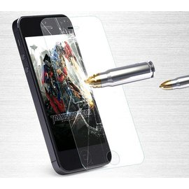 Merkloos iPhone SE / 5 / 5S / 5C  Glazen Screen protector Tempered Glass 2.5D 9H (0.3mm)