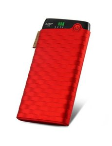 Cager Cager Powerbank 6000 mAh Power Pack Rood