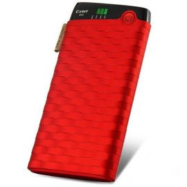 Merkloos Cager Powerbank 6000 mAh Power Pack Rood