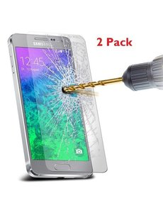 Merkloos 2 stuks Samsung Galaxy A3 (2016) glazen Screenprotector Tempered Glass