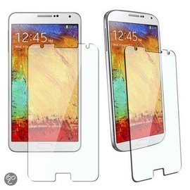 Merkloos Samsung Galaxy Note 3 Neo Tempered Glass Glazen Screen protector  2.5D 9H (0.3mm)