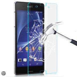 Merkloos Glazen Screen protector Tempered Glass 2.5D 9H (0.3mm) voor Xperia Z3