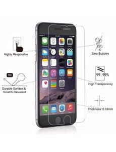 Merkloos Glazen Screenprotector Tempered Glass (0.3mm) voor iPhone 6 plus