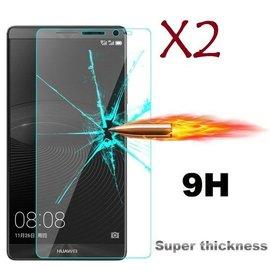 Merkloos Gratis 1 + 1 Huawei Mate S glazen Screen protector Tempered Glass 2.5D 9H (0.3mm)
