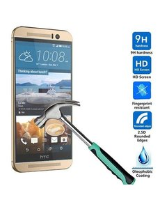 Merkloos HTC One M9 Screenprotector Tempered Glass (0.26mm)