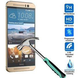 Merkloos HTC One M9 Screen protector Tempered Glass 2.5D 9H (0.26mm)