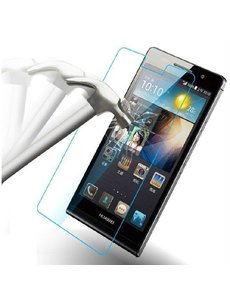 Merkloos Huawei Ascend P6 Glazen Screenprotector (0.26mm)