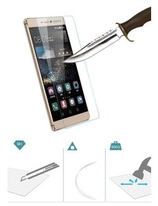 Merkloos Huawei Ascend P8 Screenprotector Tempered Glass (0.26mm)