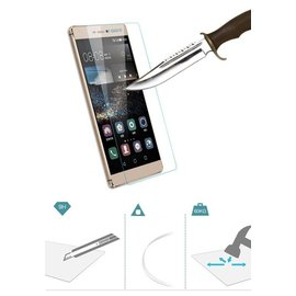 Merkloos Huawei Ascend P8 Screen protector Tempered Glass 2.5D 9H (0.26mm)