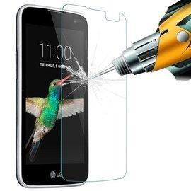 Merkloos LG K4 Glazen Tempered Glass / Screen protector 2.5D 9H (0.3mm)