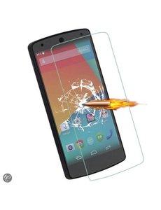 Merkloos LG Nexus 5 Glazen Screenprotector Tempered Glass (0.3mm)