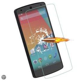 Merkloos LG Nexus 5 Glazen Screen protector Tempered Glass 2.5D 9H (0.3mm)