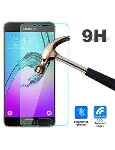 Merkloos Samsung Galaxy A3 (2016 A310F) Screenprotector / Anti - Crash Tempered glass