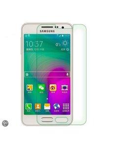 Merkloos Samsung Galaxy A3 Glazen Screenprotector Tempered Glass (0.3mm)