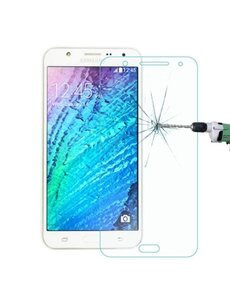Merkloos Samsung Galaxy J7 tempered glass / clear Screenprotector
