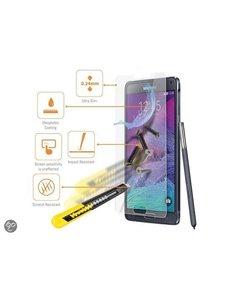 Merkloos Samsung Galaxy Note 4 Glazen Screenprotector Tempered Glass (0.3mm)