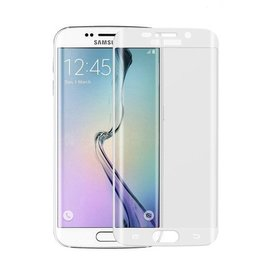 Merkloos Samsung Galaxy S6 Edge Plus Arch edge ultra dun Screen protector / tempered glass Wit