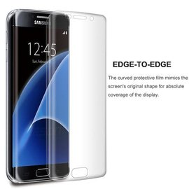 Merkloos Samsung Galaxy S7 Edge edge to edge transparant glazen screen protector / Tempered glass Arch Edge