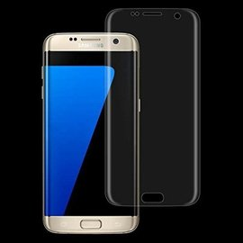 Merkloos Samsung Galaxy S7 Full cover Transparent Glazen tempered glass / Screen protector Arch Edge