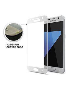 Merkloos Samsung Galaxy S7 volledige dekking Screenprotector / tempered glass Zliver