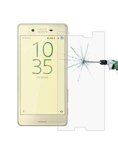 Merkloos Sony X Performance glazen Screenprotector Tempered Glass