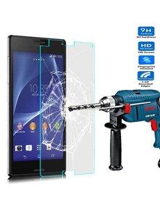 Merkloos Sony Xperia M4 Aqua Glazen Screenprotector