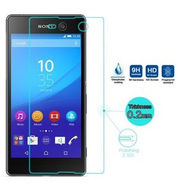 Merkloos Sony Xperia M5  Tempered Glass Screen protector