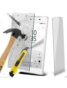 Merkloos Sony Xperia Z5 Compact (mini) Glazen Screenprotector tempered glass