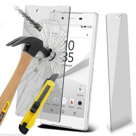 Merkloos Sony Xperia Z5 Compact (mini) Glazen Screen protector tempered glass