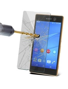 Merkloos Tempered Glass / screen protecor voor Sony Xperia M5