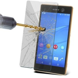 Merkloos Tempered Glass / screen protecor voor Sony Xperia M5  2.5D 9H