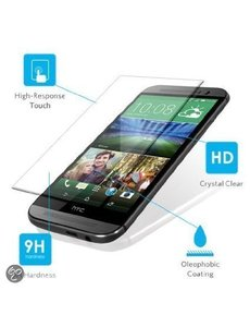 Merkloos Glazen Screenprotector HTC One M8