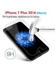 Merkloos iPhone 8 Plus / 7 Plus glazen Tempered Glass / Screenprotector