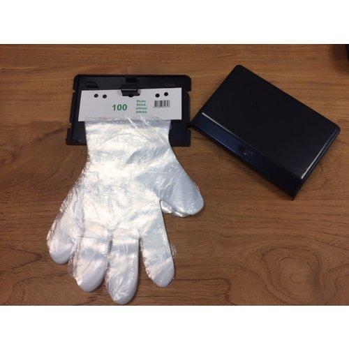 Prisma Graphics Dispenser voor PE diesel handschoenen  ( per stuk)