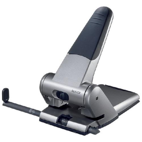 Leitz Perforator Leitz Heavy Duty 5180 2-gaats 65vel zilver