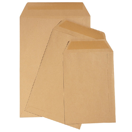 Quantore Envelop Quantore loonzak 95x145 70gr bruin 1000stuks