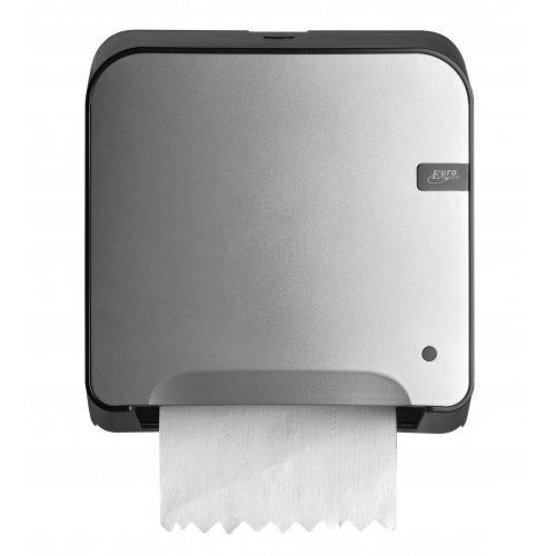 Euro Products Quartz line Midi Matic XL Dispenser Silver