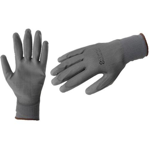 Werkhandschoenen Polyflex grijs