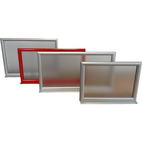 Aluminium Infotopper A3 liggend