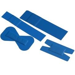 Blauwe pleisters PU (100 per verpakking)