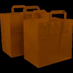 Papieren draagtas (250 stuks per doos)